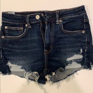 Distressed shortys